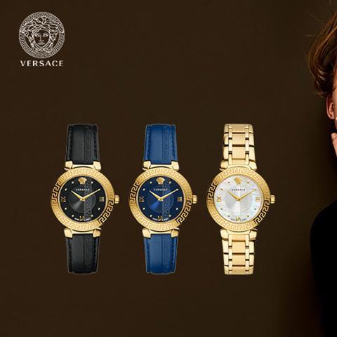 Hấp dẫn lạ kỳ với đồng hồ Versace biểu tượng đầu quỷ Medusa