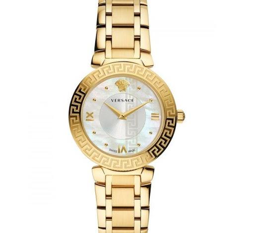 Top 5 mẫu đồng hồ Versace nữ màu vàng cực sang trọng