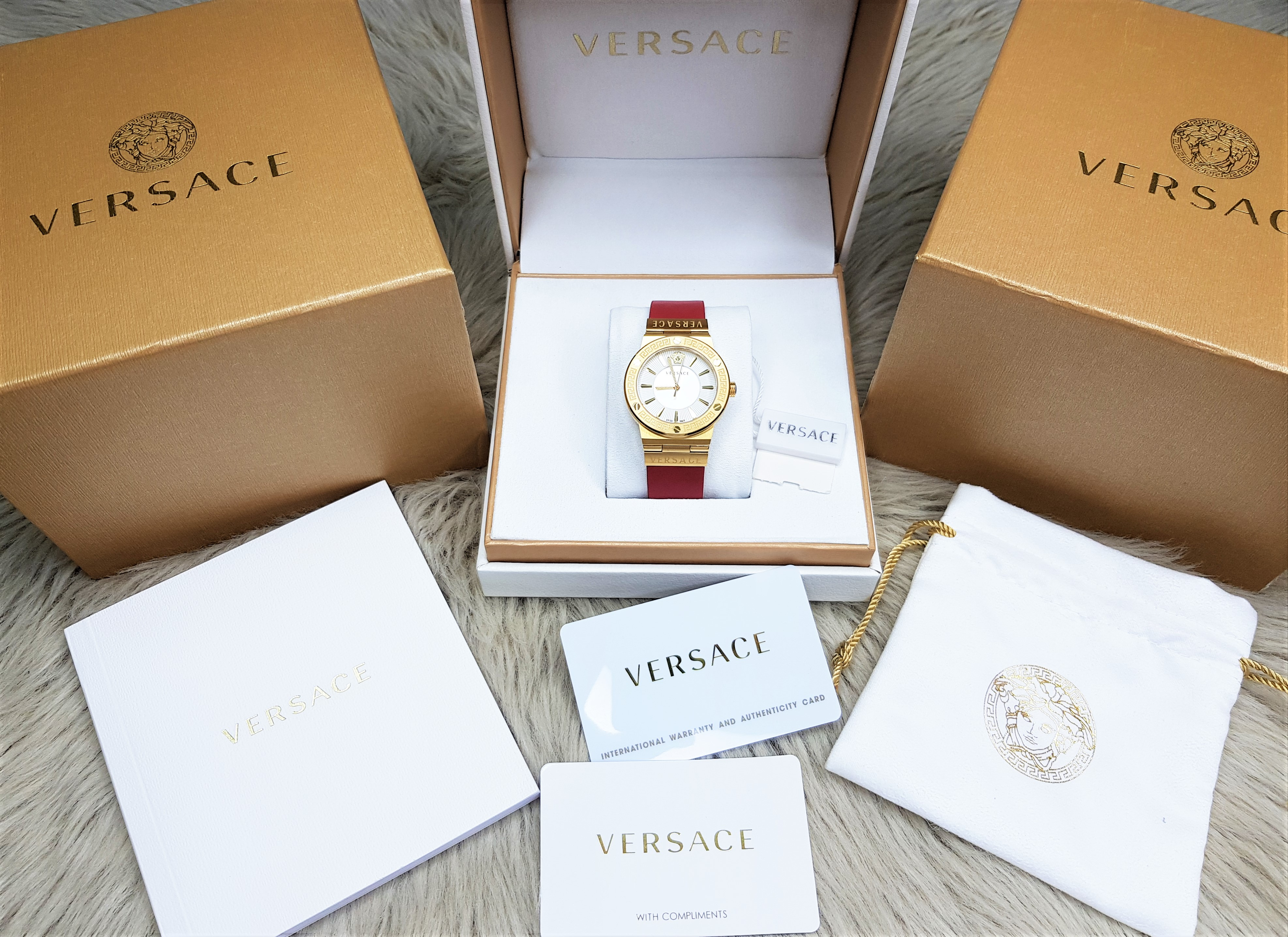 Versace Greca Logo 38mm