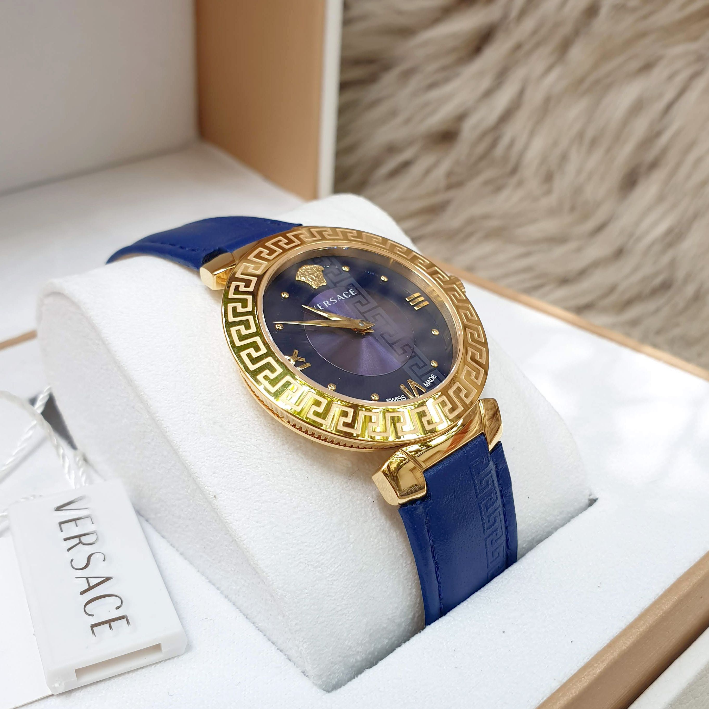 VERSACE BLUE DAPHNIS V16040017, 35MM