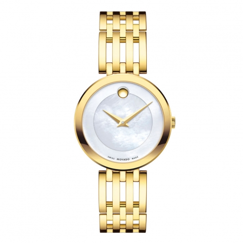 ESPERANZA YELLOW GOLD PVD-FINISHED STAINLESS STEEL LADIES WATCH 0607054, 28MM
