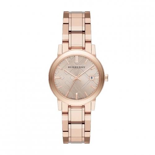THE CITY ROSE GOLD-TONED LADIES WATCH BU9135, 34MM