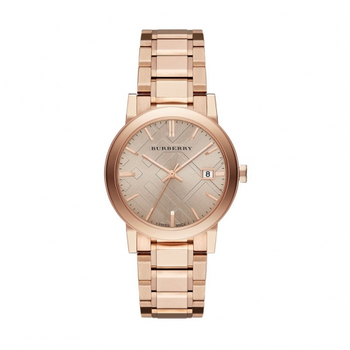 THE CITY ROSE GOLD ION-PLATED STAINLESS STEEL BRACELET WATCH 38MM