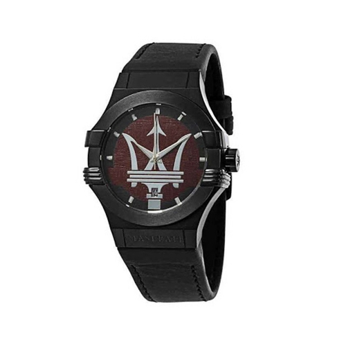 Maserati Potenza Dark Brown Dial Mens - 42MM