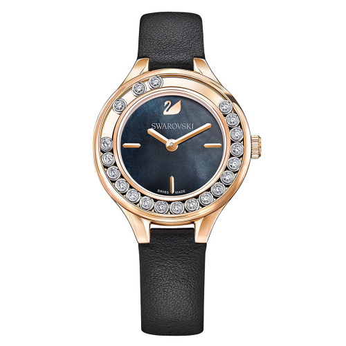 LOVELY CRYSTALS MINI WATCH, BLACK 5301877, 31MM