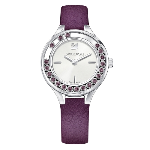 LOVELY CRYSTALS MINI WATCH, PURPLE 5295331, 31MM