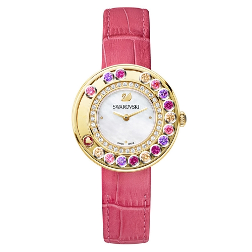 LOVELY CRYSTALS BERRY PINK WATCH 5183903, 35MM