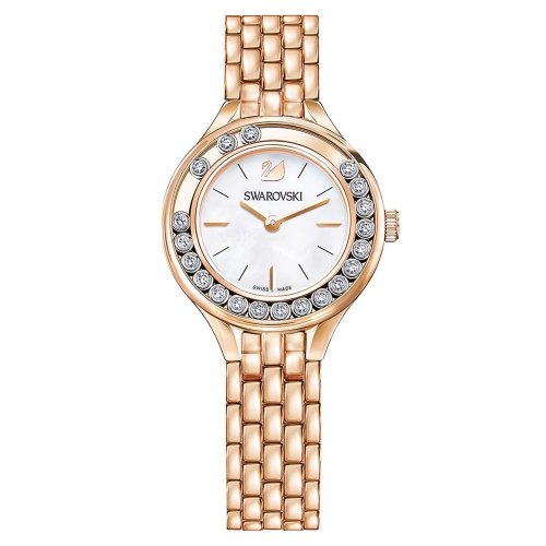 LOVELY CRYSTALS MINI WATCH, ROSE GOLD TONE 5261496, 31MM