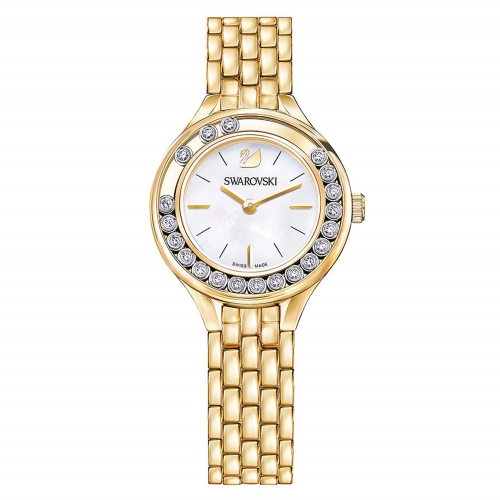 LOVELY CRYSTALS MINI WATCH, GOLD TONE 5242895, 31MM