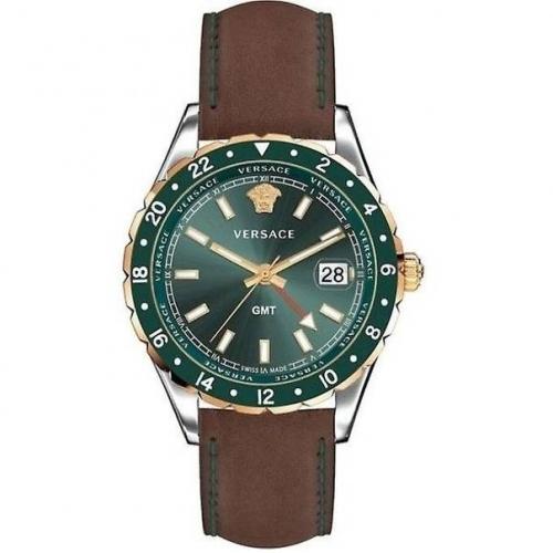 Versace Gmt Swiss Made Wrist Watch Brand Watch  42mm