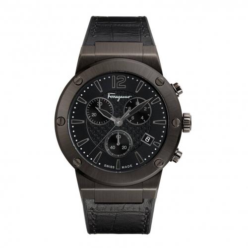 Salvatore Ferragamo F-80 Watch, 44MM