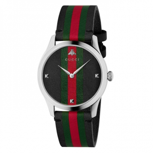 GUCCI G-TIMELESS TRI-COLOR DIAL