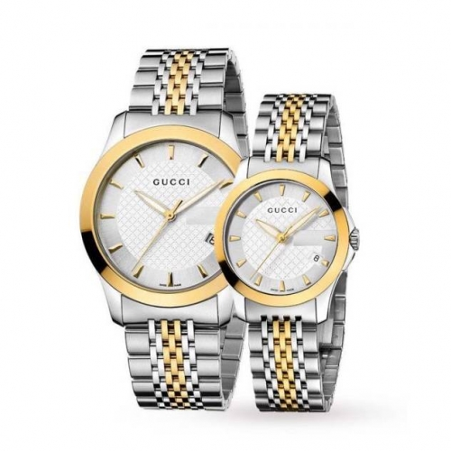 G-Timeless Two-tone Stainless Steel Unisex Watch
