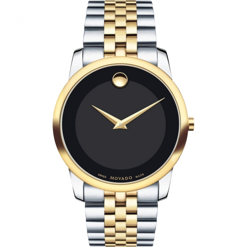 MOVADO MUSEUM CLASSIC WATCH, 0606889,  40MM